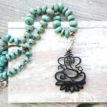 GANESHA - YOGA NECKLACE