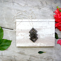 GEOMETRY NECKLACE - UNITY PENDANT