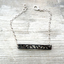 COCONUT TAG CHAIN BRACELET