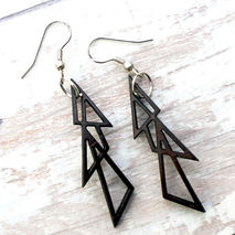 GEOMETRIC EARRINGS - TRIANGLES