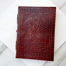 TREE OF LIFE HANDMADE LEATHER JOURNAL