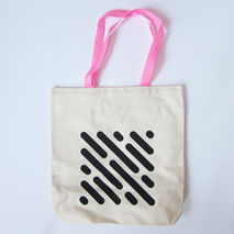 Tote Bag : Oval Slots