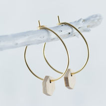 HEXAGON HOOPS BEECH