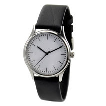 Minimalist Watch with thin stripes Free shipping