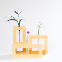 Geometric Bud Vase Set of 3