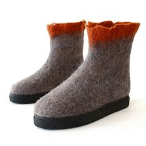 Women's Eco Friendly Ankle Booties Potter's Clay
