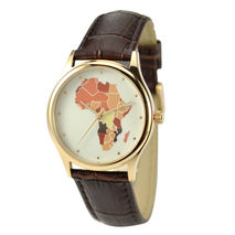 Africa Map Watch - Unisex - Free shipping worldwide