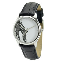 ZEBRA WATCH (DRINK WATER) - UNISEX - FREE SHIPPING WORLDWIDE