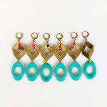 Big Bold Statement Earrings, Modern Geometric Earrings