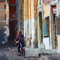 Original Painting For Sale, 'Streets Of Rome'